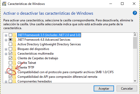 caracteristicas de windows
